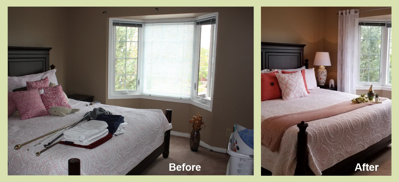 Before and after home staging      ottawa